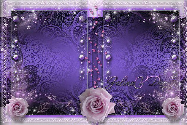 照片边框模板psd素材蕾丝花边玫瑰花朵边框欧式相框模板下载