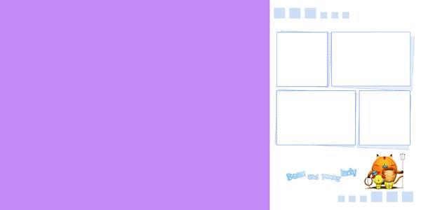 儿童照片模板psd素材花园密码系列2012最新儿童照片模板七 [中国photoshop资源网|ps教程|psd模板|照片处理|ps素材|背景图片|字体下载|ps笔刷下载]