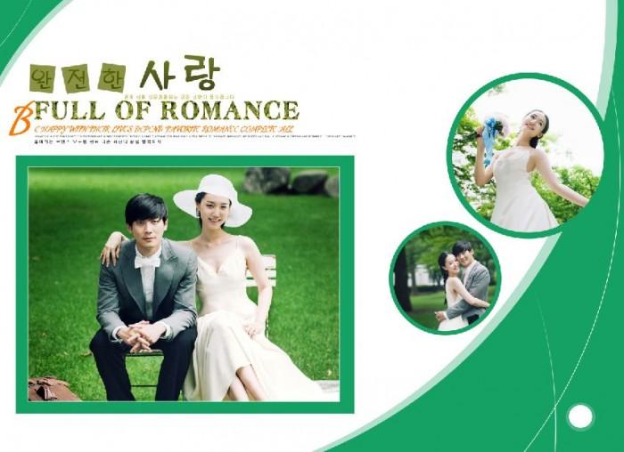 11月更新影楼婚纱相册模板韩式婚纱系列婚纱相册psd
