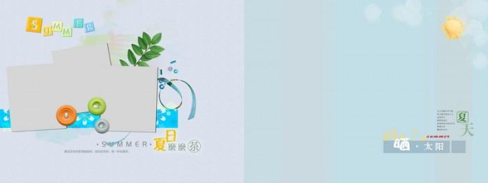 12月更新影楼儿童相册模板童年记忆系列儿童相册psd模板免费下载三(共