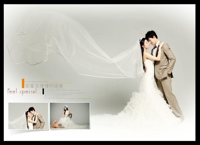 婚纱照拼图模板_拼图模板