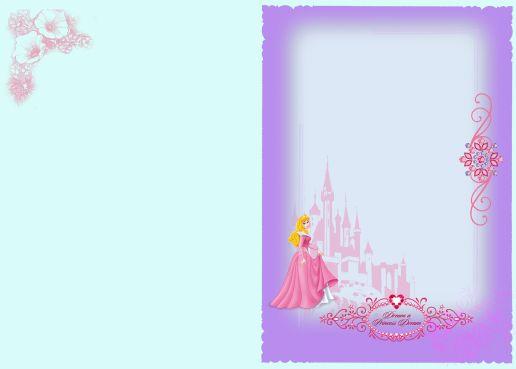 楼经典儿童相册模板迪斯尼白雪公主系列儿童相册PSD模板免费下载