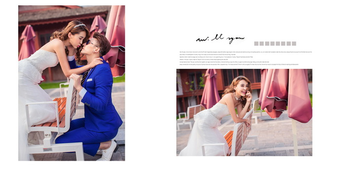 psd素材 影楼模板 婚纱模板 >> 素材信息  10月最新情侣婚纱相册模板