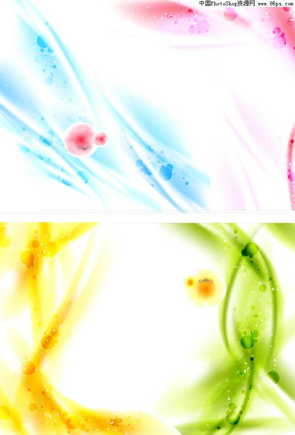 ai格式,含jpg预览图,关键字:矢量背景,梦幻背景,幻彩背景,闪光,淡雅