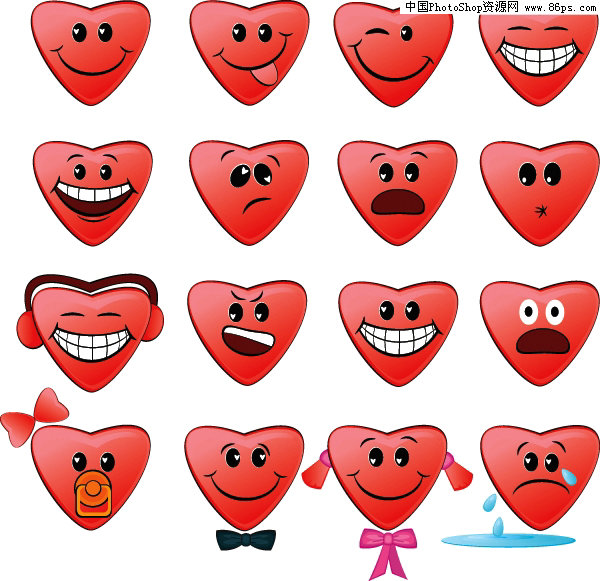 EPS格式,含JPG预览图,关键字:矢量图标,表情,表情图标,心形,可爱,喜怒哀乐,蝴蝶结,听音乐,矢量素材... | 水馨 EPS称为被封装的PostScript格式,它主要包含以下几个特征。   (1)EPS文件格式又被称为带有预视图象的PS格式,它是由一个PostScript语言的文本文件和一个(可选)低分辨率的由PICT或TIFF格式描述的代表像组成。   (2)EPS文件格式的封装单位是一个页面,也就是一个。EPS文件只包含一个页面的描述。这样,如果有50个页面的出版物就会产生50个EPS文件