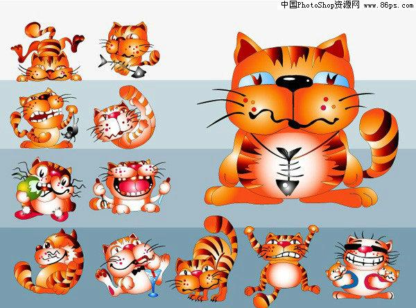 【文件大小:305 KB 更新时间: 2010-09-22软件类别:ai素材 软件语言:简体中文】 AI格式超可爱卡通猫矢量素材免费下载  AI格式,含JPG预览图,关键字:矢量卡通,动物,猫,可爱,漫画风格,喝酒,鱼骨,运动,矢量素材...  Twinsen  AI后缀的文件是指通过Adobe Illustrator(简称AI)软件储存得到的图片格式 这种格式的图片是矢量的,也就是说像freehand,Coreldraw那样子的图片可以随意放大但不失真的那种   它和photoshop是同属Adobe公