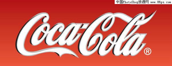 ai格式可口可乐中英文标志矢量素材免费下载