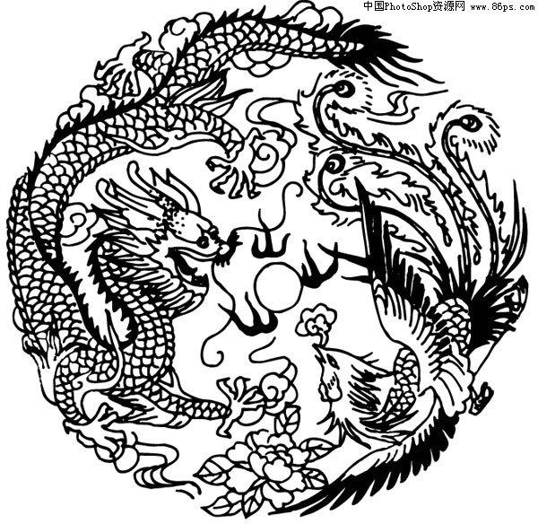 AI格式,含JPG预览图,关键字:中国风,传统图案,矢量,吉祥图案,...