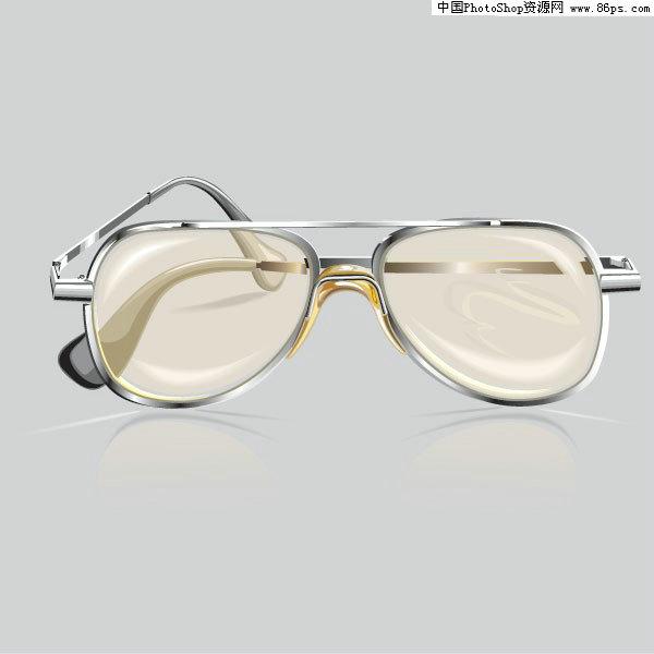 eps格式写实风格眼镜矢量素材免费下载