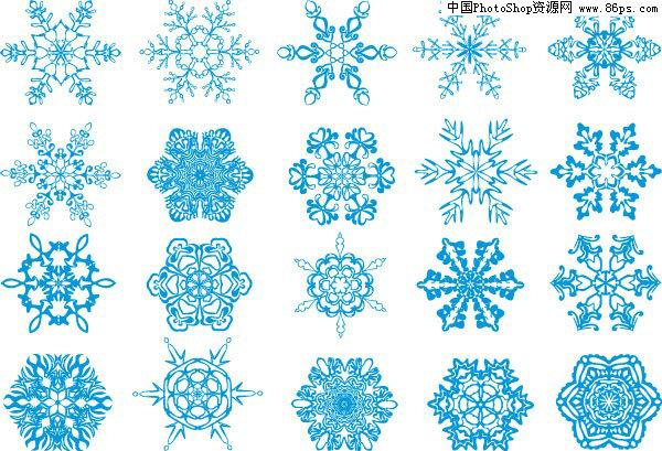 六角简单雪花剪纸步骤图解