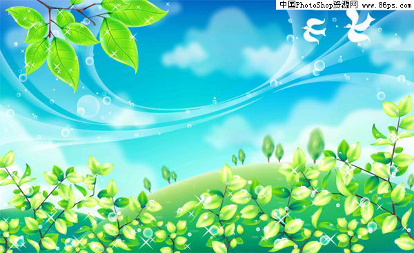 【文件大小:305 KB 更新时间: 2010-09-22软件类别:ai素材 软件语言:简体中文】 AI格式充满春天气息的郊外风光矢量素材免费下载  AI格式,含JPG预览图,关键字:矢量风景,草地,树木,绿叶,春天,蓝天,白云,小鸟,郊外,风光,矢量素材...  Twinsen  AI后缀的文件是指通过Adobe Illustrator(简称AI)软件储存得到的图片格式 这种格式的图片是矢量的,也就是说像freehand,Coreldraw那样子的图片可以随意放大但不失真的那种   它和photosho