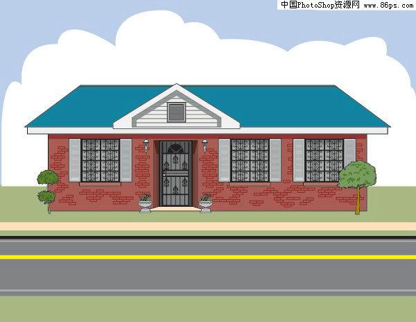 4×40长方形房子格局设计图