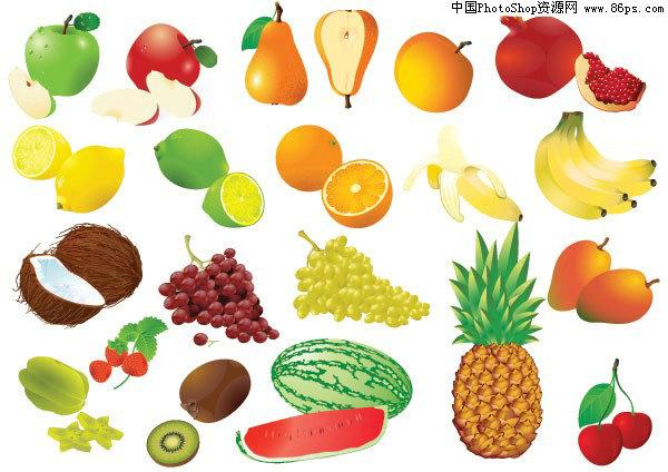 【文件大小:305 KB 更新时间: 2010-09-22软件类别:eps素材 软件语言:简体中文】 EPS格式水果及水果边框矢量素材免费下载   EPS格式,含JPG预览图,关键字:水果矢量素材,水果,苹果,梨,桃,葡萄,香蕉,西瓜,菠萝,椰子,柚子,橙子,柠檬,芒果,猕猴桃,草莓,边框矢量素材,矢量素材.