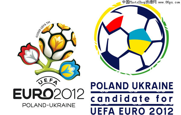 eps格式2012欧洲杯会徽标志矢量素材免费下载