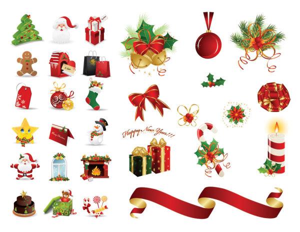 圣诞节图标.eps素材图片