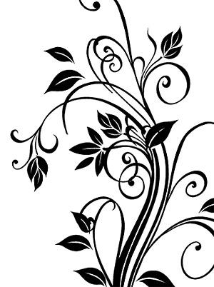 矢量花纹.黑白精美花纹.ai素材