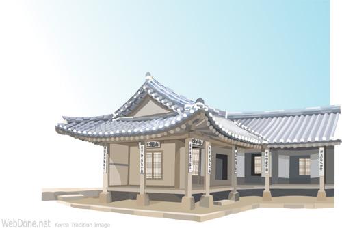 矢量古建筑.ai素材 [中国photoshop资源