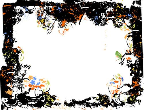 ppt 背景 背景图片 边框 模板 设计 相框 500_383
