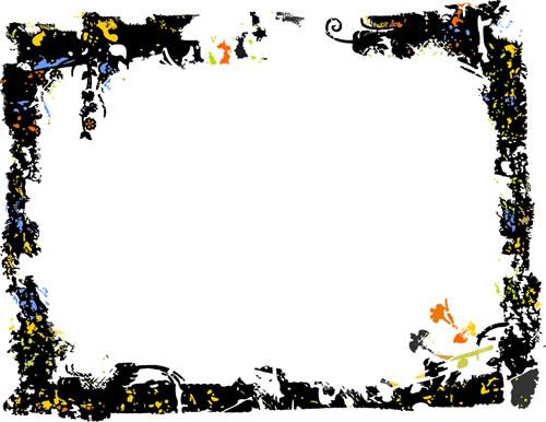 水墨边框背景_40.eps素材