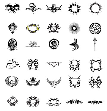 动物图腾纹身图片