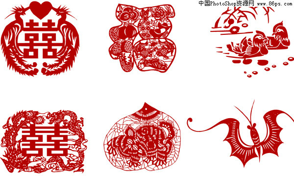 中国风,剪纸,剪纸艺术